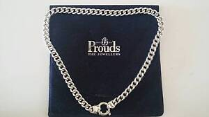 Ladies Sterling Silver classic curb necklet Campbelltown Campbelltown Area Preview