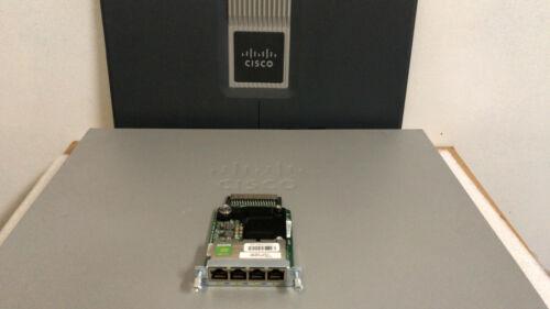 CISCO EHWIC-4ESG 4-Port Gigabit WAN Interface Card 1900 2900 3900 3900E Router