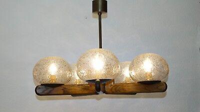 Kaiser Leuchten  Deckenlampe  Deckenleuchte Holz Glas Schirme Einschüsse AD104