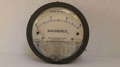 Dwyer Magnehelic Pressure Gage 15 Psig 2003c