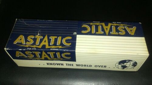 Vintage Astatic 331 Chrome Front Microphone with Box