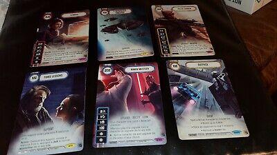 Star Wars Destiny - G19D3 Promos - Niman Mastery etc