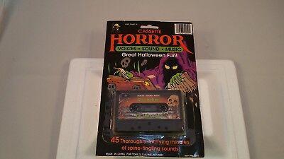 Chamber of Horrors Halloween Horror Cassette Tape Original Packaging Sound FX ](Halloween Origin Story)