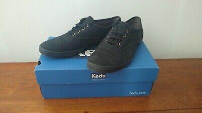 Black Keds Champion size 6 plimsoles