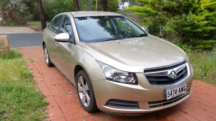 2010 Holden Cruze CD, Manual, 127xxxkms