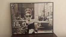 Audrey Hepburn Breakfast at Tiffany's framed pix Daceyville Botany Bay Area Preview