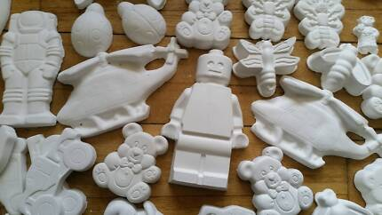 Start your own plaster painting business -plaster figures, moulds