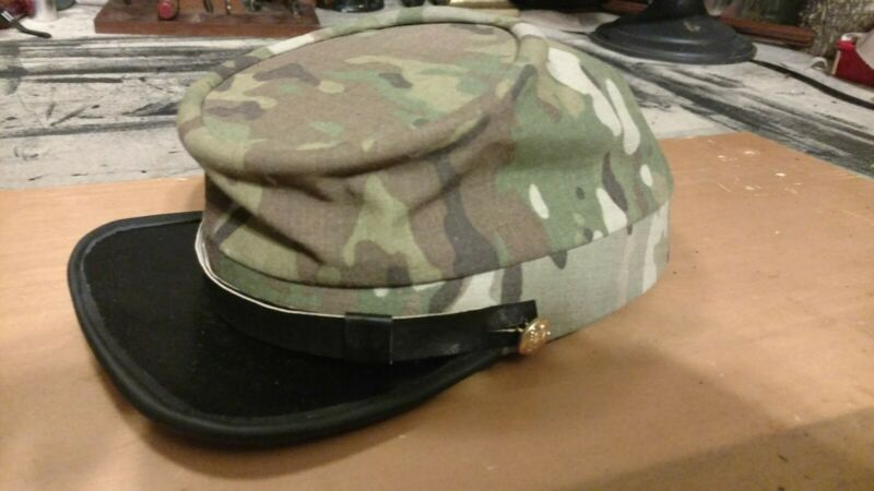 Civil War US Army Camo Kepi Hat