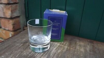 RARE 2000 Association of Chief Police Officers Dartington Crystal Glass Boxed