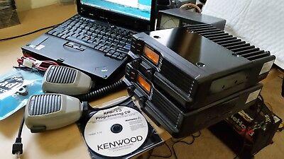 1 Kenwood Tk-730 Vhf 45w 99ch Ham-band 143-174 Mhz W Kch-3 Dashmount Complete