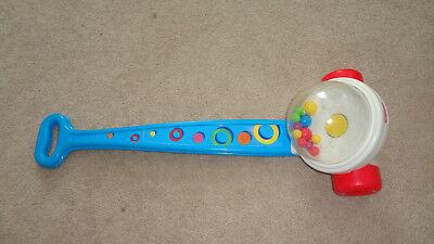 Fisher Price Pop Corn Popper Toddler Push Toy Vintage