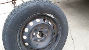Excellent condition winter tires