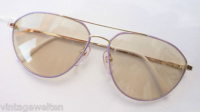 Eschenbach selbsttönende Sonnenbrille Echtglas automatic Pilotenform neu Gr. L