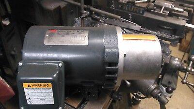 Dayton 34 Hp Electric Motor 1135 Rpm 3 Phase 11w353  Hydraulic Pump Motor