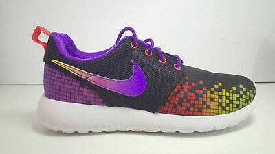 SCARPE N 38 UK 5 NIKE ROSHE ONE PRINT (GS) SNEAKERS BASSE 677784 003