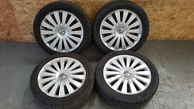 VW PASSAT B6 2.0 TDI 2005-2010 MACAU ALLOY WHEELS & FREE TYRES SET 235/45 R17