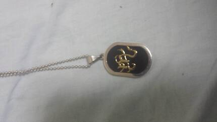 Mens Necklace Scorpio sign Landsdale Wanneroo Area Preview