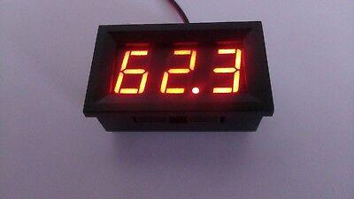 ROT 0,56 ''DC 0 V-99,9 V LED Mini Digital Voltmeter