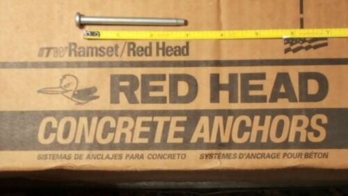 "Red Head ITW Redi-Drive 3"" Concrete Anchor 100PK"