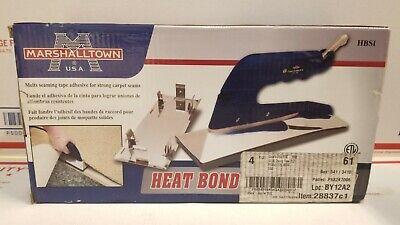 Marshalltown HBSI Heat Bond Seaming Iron Brand New!