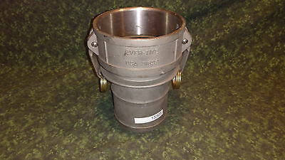 New 4 Cam Groove C-coupler - 316 Stainless Steel 15301-tub-s