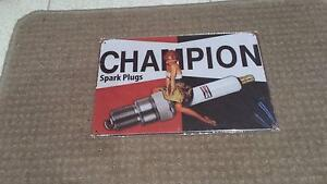 CHAMPION SPARK PLUGS TIN SIGN Winthrop Melville Area Preview