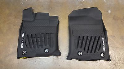 2013   2018 Toyota 4Runner OEM All Weather Mats Liners Set of 3