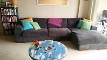 Grey L-shape couch - super comfy!!! Erskineville Inner Sydney Preview