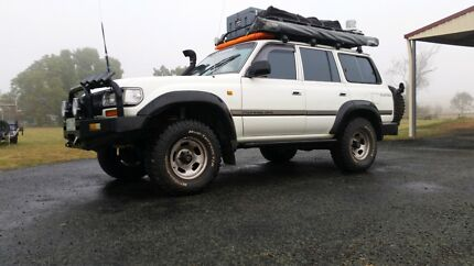 Toyota Landcruiser 80 series gxl 1994 Boonah Ipswich South Preview