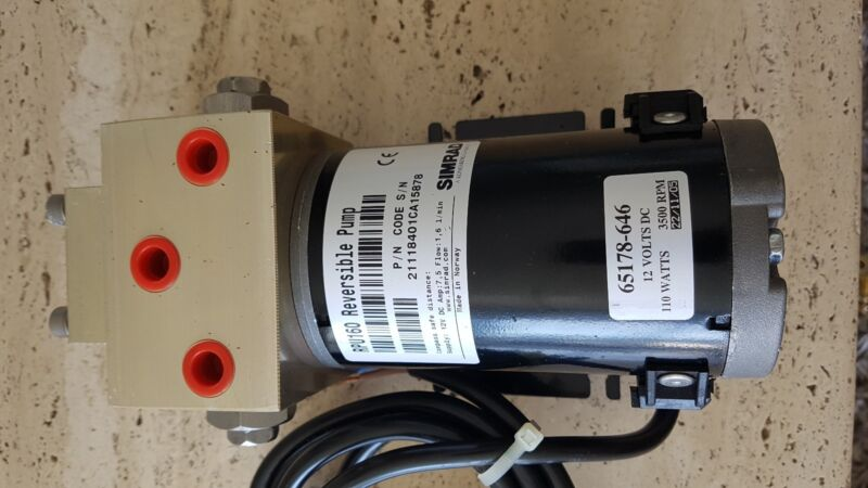 Simrad RPU160 Drive Unit Reversible Pump Drive Unit Reversible Pump