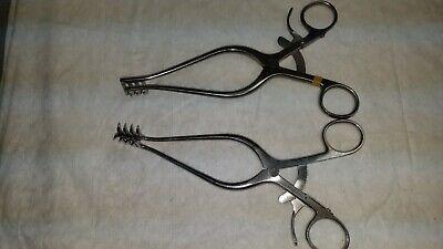Codman Weitlaner Surgical Retractor Item 50-1199 Orthopedic Neuro