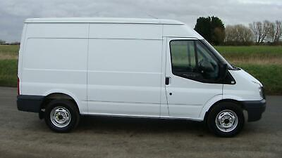 60 REG FORD TRANSIT 350 LWB ULEV FULLY ELECTRIC VAN SMITH EDISON AUTOMATIC
