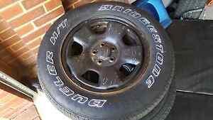 Subaru forester steel wheels Baldivis Rockingham Area Preview