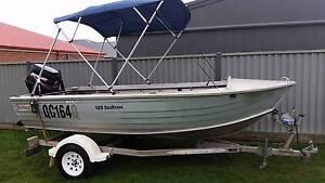 2006 Stacer 429 Seahorse aluminium boat Ballarat Central Ballarat City Preview