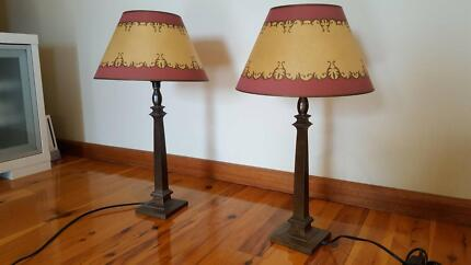 LAURA ASHLEY BEDSIDE TABLE LAMPS & BASES
