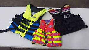 3 Life Jackets - Assorted sizes Perth Perth City Area Preview