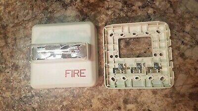 Siemens Zr-mc-w Fire Alarm Strobe