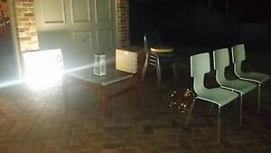 Office table coffee table chairs tv etc Strathfield Strathfield Area Preview