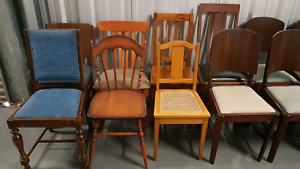 Assorted Timber Dining Chairs Chermside Brisbane North East Preview