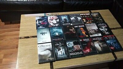Halloween Movies 1-8 (24 DVD Movies From The Makers Of SAW: Saw 1-8, Don't Breathe, The Collector)