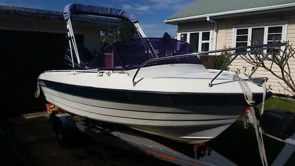 stejcarft ski/fishing boat Cardiff South Lake Macquarie Area Preview