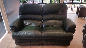 4 seat leather  recliner lounge Mudgeeraba Gold Coast South Preview