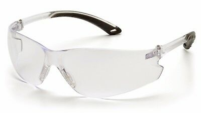 12 Pair Pyramex Itek Clear Safety Glasses Anti-fog 99 Uv Protection S5810st
