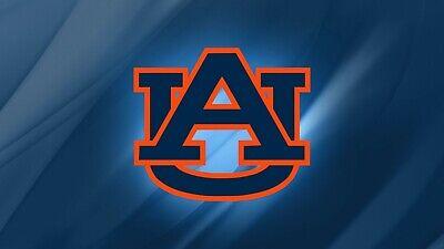 - NCAA Auburn Tigers Logo Custom License Plate
