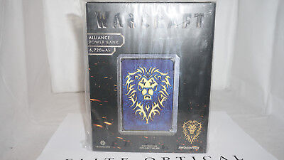 New Alliance Symbol Warcraft Swordfish Power Bank Light Up 6720 Mah 2 Ports