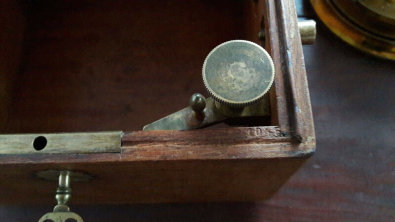 Anker-chronometer A. Lange & Söhne Glashütte No. 1045 | chronometer marine sohne