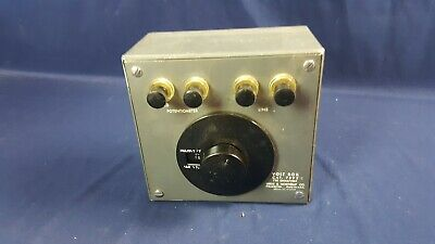 Volt Box Cat. 7592-s Leeds Northrup Potentiometer 750 Ohmsvolt 3-day Refund