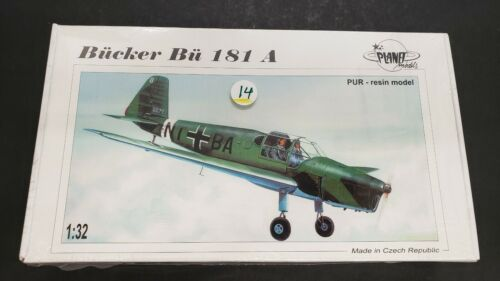 PLANET  BUCKER BU 181  A  RESIN  1/32 SEALED