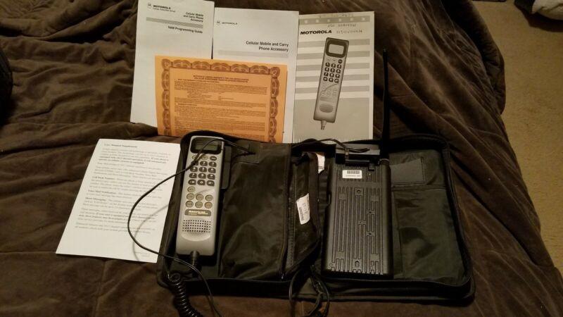 Vintage Motorola Mobile Phone in case
