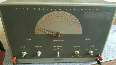 Heath Kit - 1g-82 Vintage -tube Test Equipment Signal Generator